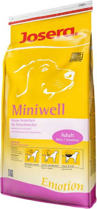 Josera Miniwell Hundefutter Emotion Line
