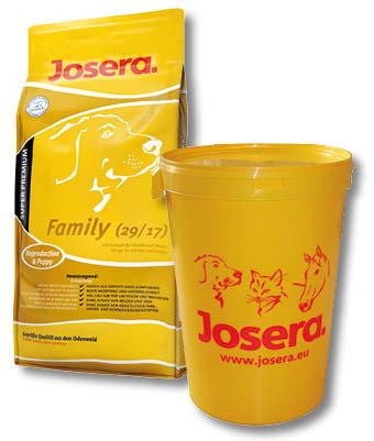 josera family 29 17 premium hundefutter. Black Bedroom Furniture Sets. Home Design Ideas